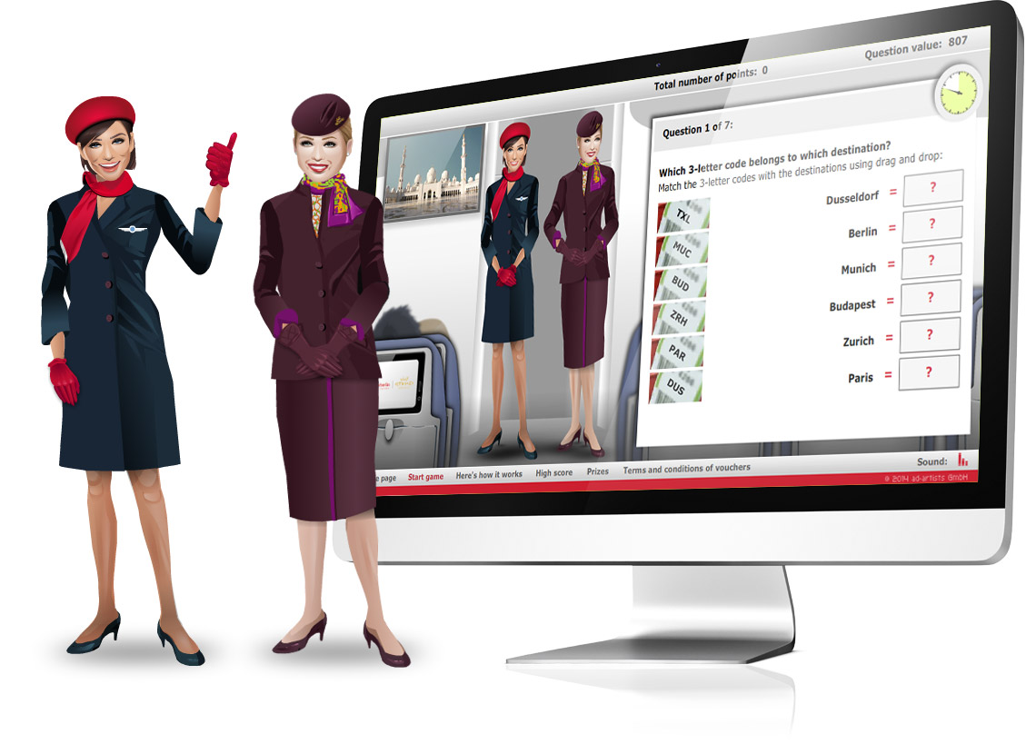 Learn your stuff - E-Learning von Air Berlin